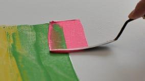 Techniken der Malerei lizenzfreie stockfotos