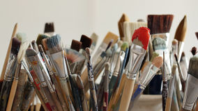 Techniken der Malerei Lizenzfreies Stockbild