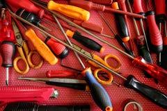 Techniker ` s Werkzeugfach lizenzfreie stockfotos