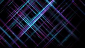 Techniki futurystyczna błękitna purpura paskuje abstrakcjonistycznego ruchu tło royalty ilustracja
