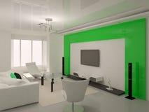 Techniki interer żywy pokój ilustracji