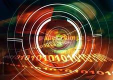 Techniki tło. Biomedyczna elektroniczna technologia zdjęcie royalty free