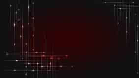 techniki tło z rozjarzonym sznurkiem Świecący przecinać wykłada z jaśnienie kropkami Abstrakta pasiasty tło z ilustracji