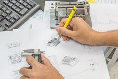 Technikwerkzeuge Lizenzfreies Stockfoto