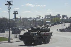 Technique dans le défilé militaire Image libre de droits