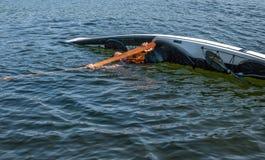 Technique 2 de roulement de kayak Photographie stock libre de droits