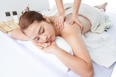 Techniques de massage I Image libre de droits
