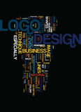 Techniques en concept de nuage de Logo Design Text Background Word Photographie stock