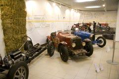 Technisch museum brno die _rennen royalty-vrije stock fotografie