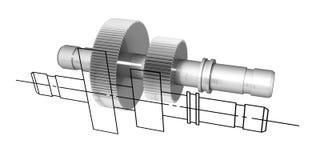 Technische Abbildung #2 Stockbild