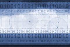 Technische achtergrond stock illustratie