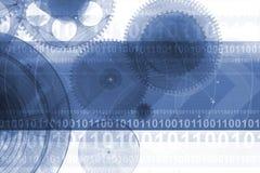 Technische achtergrondontwerp stock illustratie