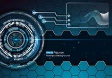 Technische futuristische achtergrond 2 Stock Illustratie
