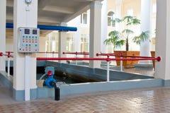 Technische pool Stock Foto