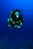 Technische Scuba-duiker Stock Foto