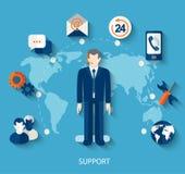 Technische steunconcept Royalty-vrije Stock Afbeeldingen