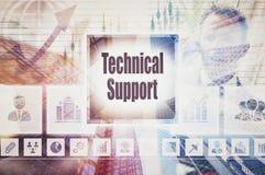 Technische steunconcept Royalty-vrije Stock Foto's