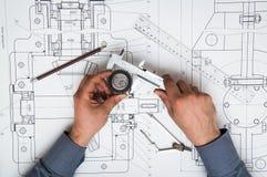 Technische Tekening Stock Fotografie