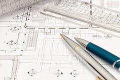 Technische Zeichnung Stockbilder