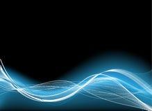 Technischer blauer Hintergrund Lizenzfreies Stockfoto