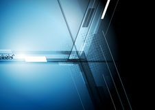 Technischer dunkler Unternehmenshintergrund Stockbild