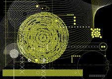 Technischer Hintergrund Lizenzfreies Stockfoto