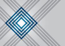 Technischer Hintergrund mit rotem Quadrat Stockbild