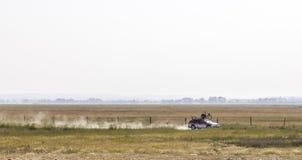 Technisches Auto nicht für den Straßenverkehr Stockfoto