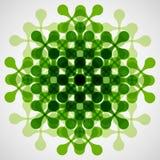 Technisches Muster ENV der flachen Vektorfarbzusammenfassung Stockbild