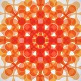 Technisches Muster ENV der flachen Vektorfarbzusammenfassung Stockbilder