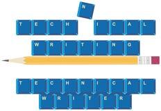 Technisches Schreiben Lizenzfreie Stockbilder