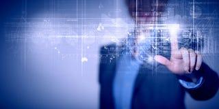 Technlogies цифров в пользе Стоковое Изображение RF