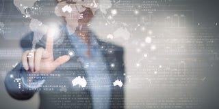 Technlogies цифров в пользе Стоковое Фото