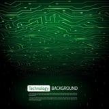 Technlogy wektoru tło Obrazy Stock