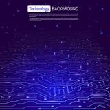 Technlogy wektoru tło Obraz Stock