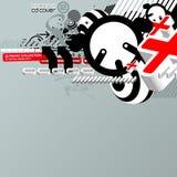techno κάλυψης Cd 2 Στοκ εικόνες με δικαίωμα ελεύθερης χρήσης