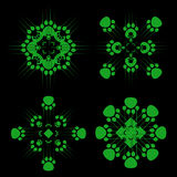 techno προτύπων Στοκ Εικόνα