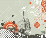 techno абстракции Стоковое фото RF