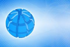 techno глобуса Стоковое фото RF