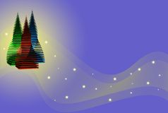 techno рождества Стоковое фото RF