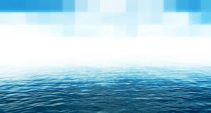 techno сини предпосылки Стоковое фото RF