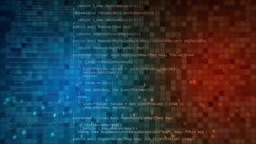 Αφηρημένη ψηφιακή ζωτικότητα τεχνολογίας Άνευ ραφής υπόβαθρο κινήσεων υψηλής τεχνολογίας βρόχων ελεύθερη απεικόνιση δικαιώματος