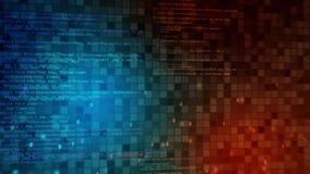 Άνευ ραφής υπόβαθρο κινήσεων υψηλής τεχνολογίας βρόχων Αφηρημένη ψηφιακή ζωτικότητα τεχνολογίας απεικόνιση αποθεμάτων