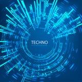 Techno 4 Στοκ Φωτογραφία