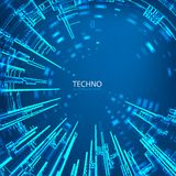Techno 3 Stock Images