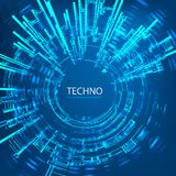 Techno 4 Stock Photography