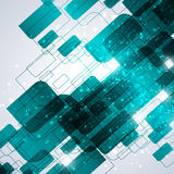 Blue technology abstract background royalty free stock photos