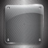Techno abstract malplaatje stock illustratie