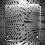 Metal technology vector abstract background Stock Images