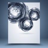 Techno abstracte achtergrond royalty-vrije illustratie